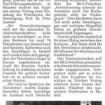 """17.06.2006 Westfälische Nachrichten """"Im Spektrum der Terroristen"""""""